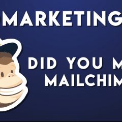 Vidmarketing #3 – Did you mean MailChimp?