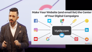 Make your website (and email list) the center of Your Digital Campaigns