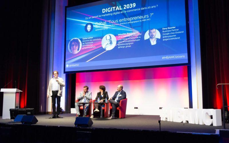 Vidmizer à la soirée des 20 ans du MBAMCI de l'ILV - Les spécialistes du Marketing Digital