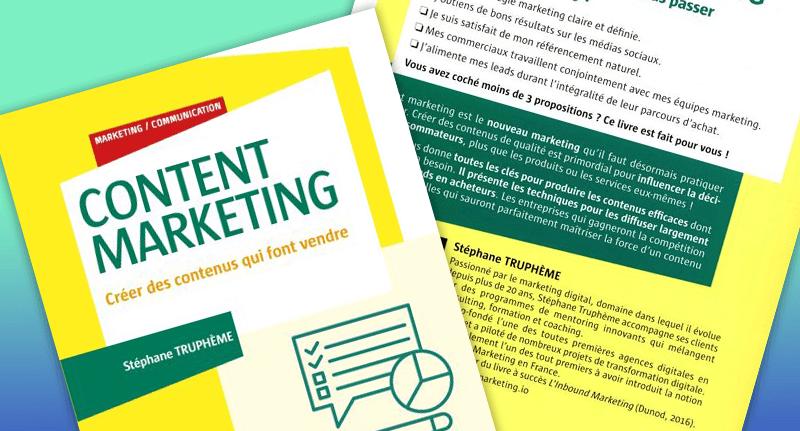 Content Marketing : créer des contenus qui font vendre